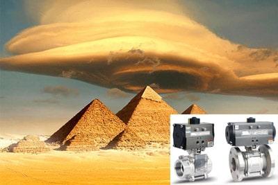 lined valves suppler & exporter in Egypt - type of pressure reducing valves
