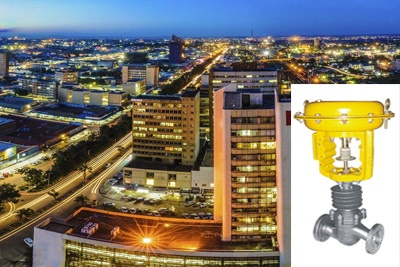 AWWA Butterfly Valves Exporter in Zambia